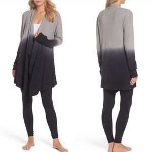 Barefoot Dreams Ombre Cardigan Cozy Chic Wrap Dye